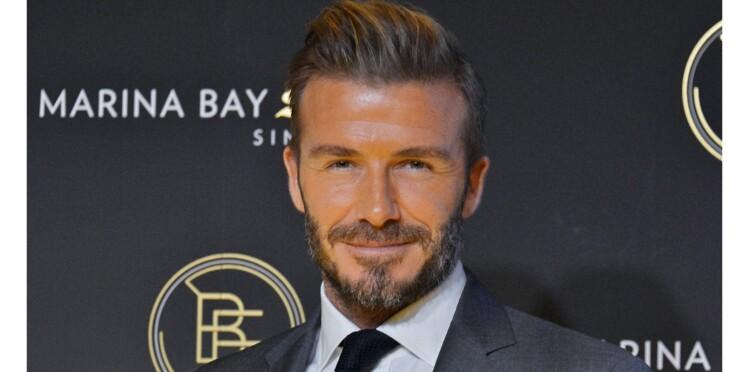 Photo : le beau David Beckham défiguré !
