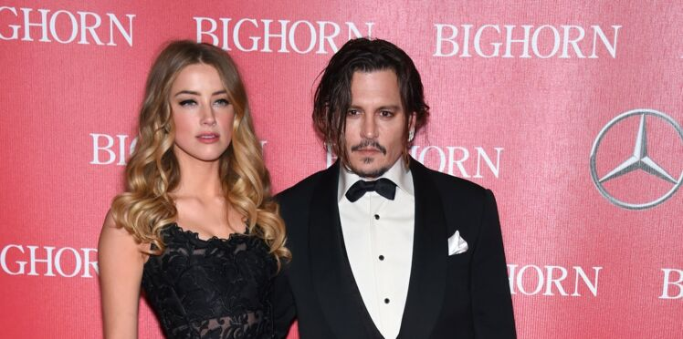 Photo à l'appui, Amber Heard accuse Johnny Depp de violences conjugales