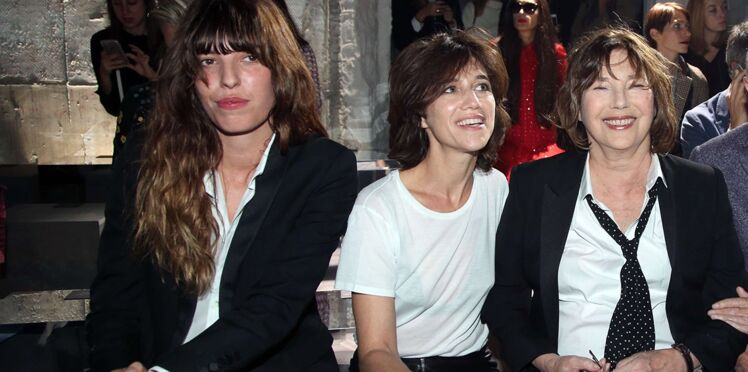 Photos : Jane Birkin en pleine forme, entourée de ses deux filles