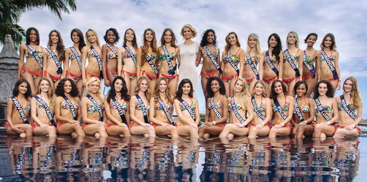 Photos - Miss France 2017 : les candidates en maillot de bain