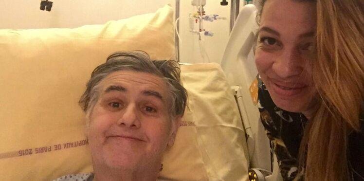Photos - Pierre Menès, sauvé grâce à un don d'organe, sa compagne Mélissa Acosta livre un témoignage poignant