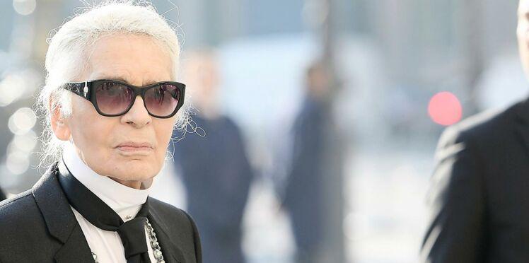 Karl Lagerfeld: découvrez pourquoi il ne quitte jamais ses lunettes noires