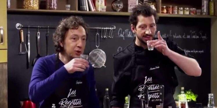 Vidéo: Stéphane Bern cuisine en état d'ébriété
