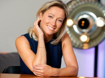 """Anne-Sophie Lapix : """"Pas question pour moi de singer Alessandra"""""""