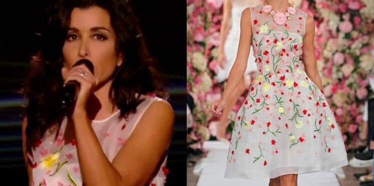 Jenifer en fleurs : tout sur sa jolie robe lors de la dernière émission de The voice