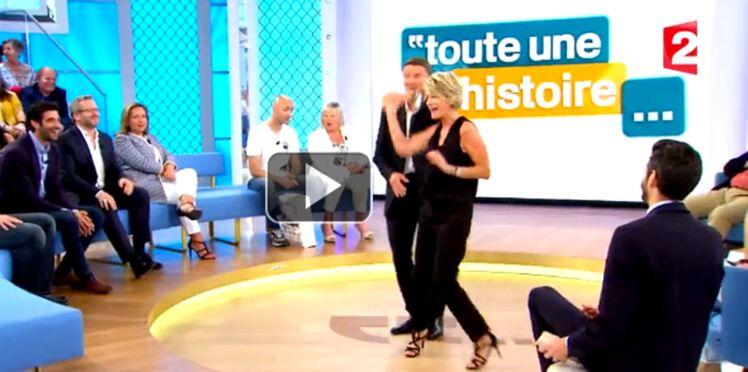 """Vidéo : Sophie Davant fait ses adieux à """"Toute une histoire"""""""