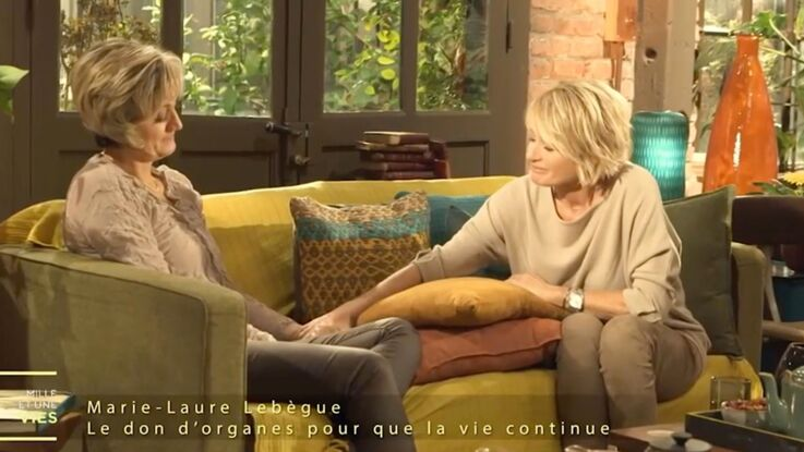 Vidéo : Sophie Davant en larmes face à une mère qui témoigne sur le don d'organe