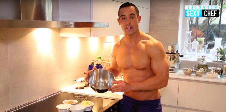 Valentin (Top Chef) cuisine nu : découvrez sa recette de verrine aux framboises