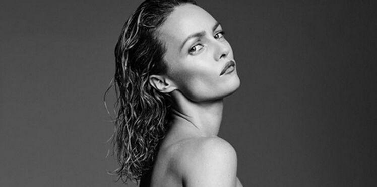 Photos : après le bas, le haut. Vanessa Paradis (encore plus) nue dans Vogue