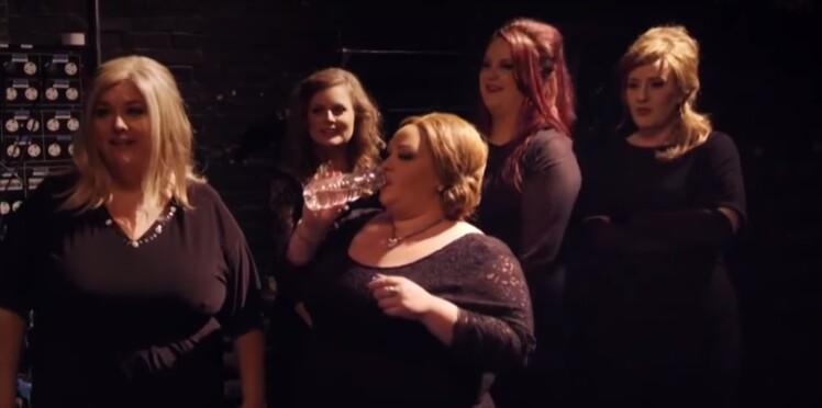 Vidéo : Adele piège ses sosies en participant au même concours qu'elles