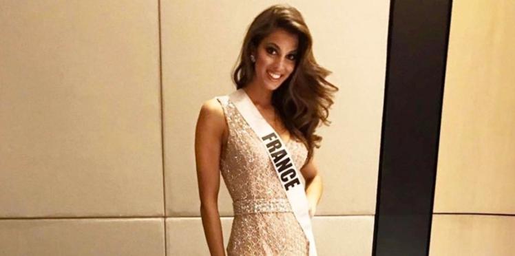 Vidéo - Iris Mittenaere, ultra glamour, lance un appel aux votes pour Miss Univers