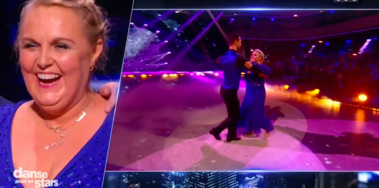 Vidéo - Valérie Damidot embrasse Christian Millette dans Danse avec les stars