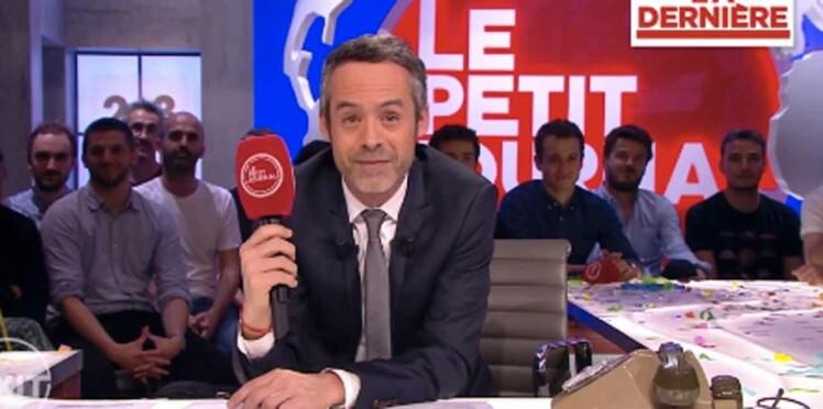 """Emotion puis destruction du plateau pour la dernière de """"Le Petit Journal"""""""