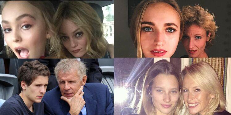 Lily Rose Depp, Chloé Jouannet... Ces enfants qui ont deux parents stars !