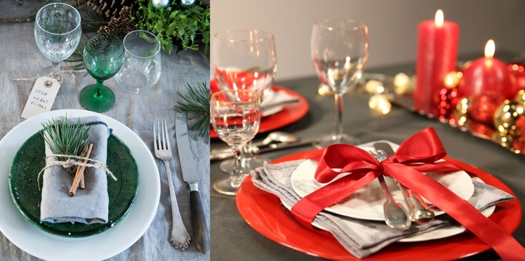 Comment présenter vos serviettes de table à Noël ?