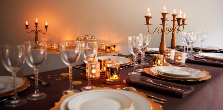 Nos conseils déco pour réussir votre table de Noël