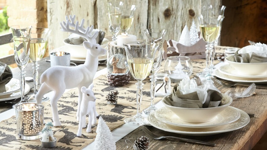 Ma déco de table pour un Noël au naturel