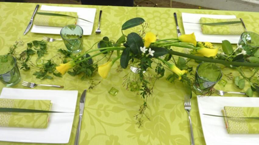 Le printemps s'invite à table