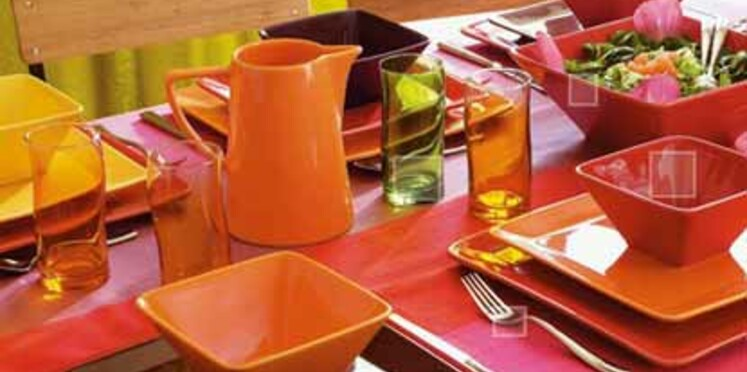 Le design passe à table