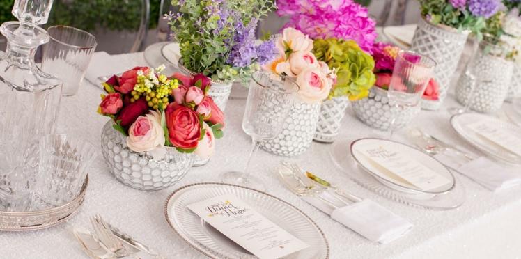 Mariage, baptême... 3 décorations de table tendance et leurs menus