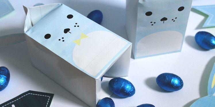 Pâques : un duo de boites lapins pour cacher les oeufs