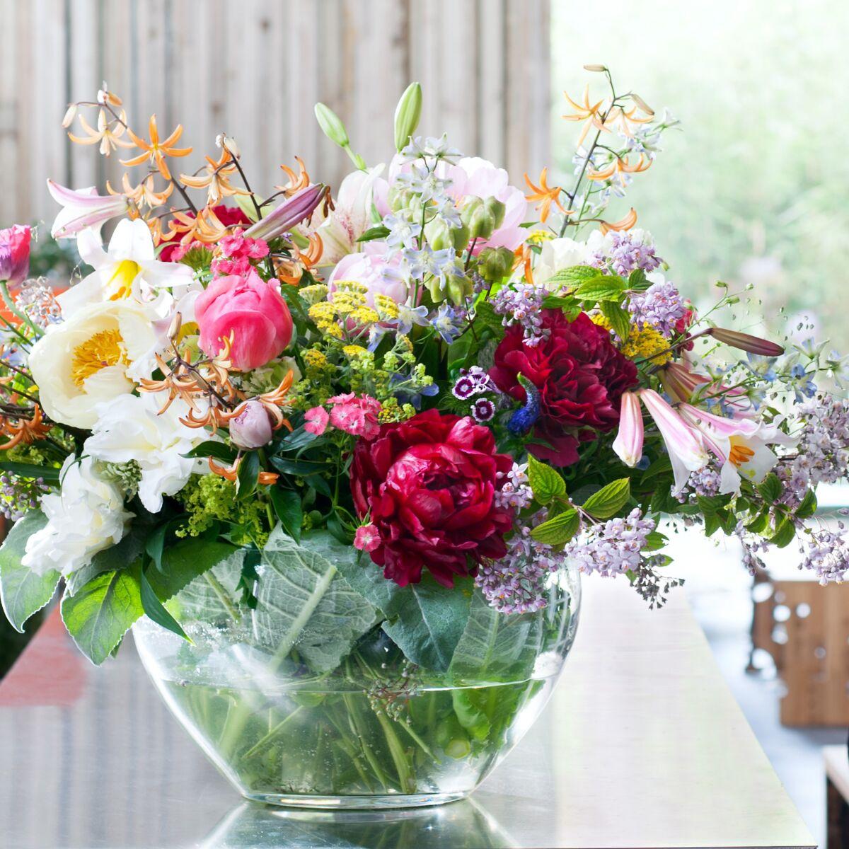 Comment Faire Un Bouquet De Roses pivoine : comment composer et entretenir son bouquet