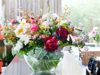 comment conserver des fleurs coup es femme actuelle le mag. Black Bedroom Furniture Sets. Home Design Ideas