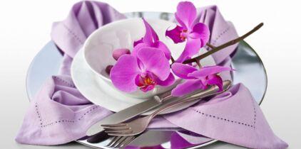 Pliage De Serviette Fleur De Paradis Femme Actuelle Le Mag