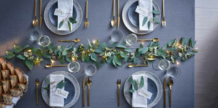 Table de Noël chic et végétale : nos idées faciles et rapides