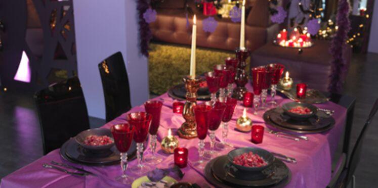 Réaliser une table de Noël traditionnelle