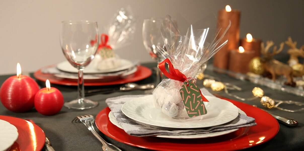 Vidéo de Noël - Des tisanes maison en cadeau d'assiette