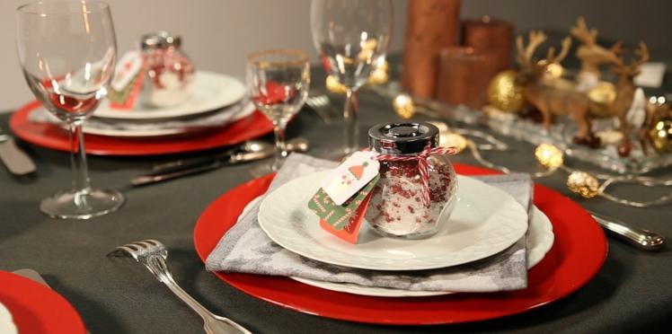 Vidéo de Noël : du sel aromatisé en cadeau d'assiette