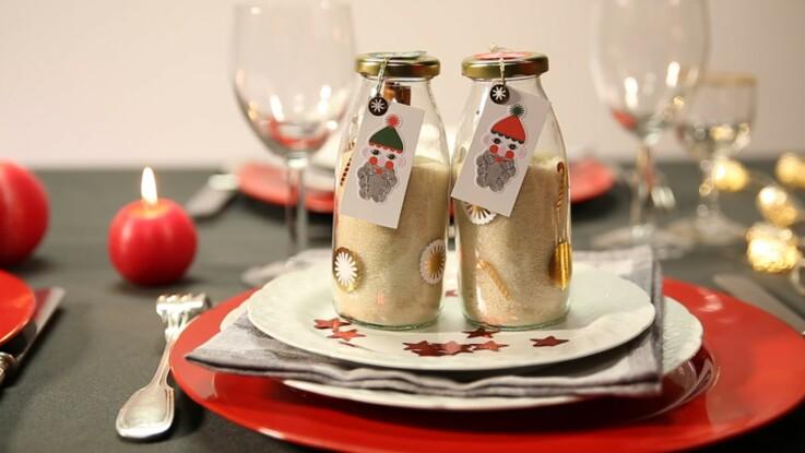 Vidéo de Noël : du sucre parfumé en cadeau d'assiette