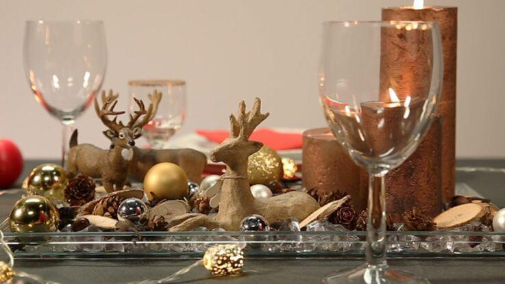 Vidéo de Noël : Le centre de table inspiration nature