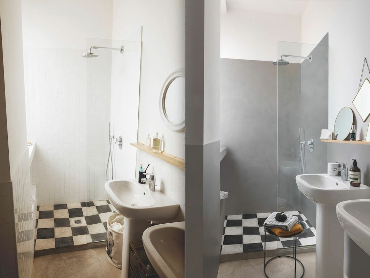 Photo Salle De Bain Carrelage Beton