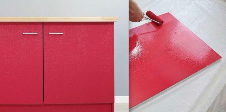 Comment peindre un meuble de cuisine