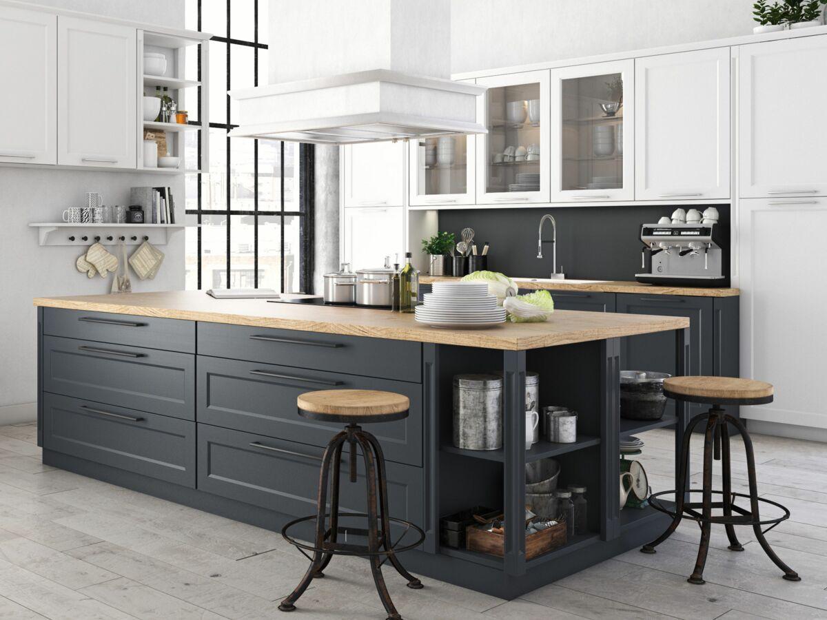 Décoration de cuisine : comment repeindre ses meubles ? : Femme