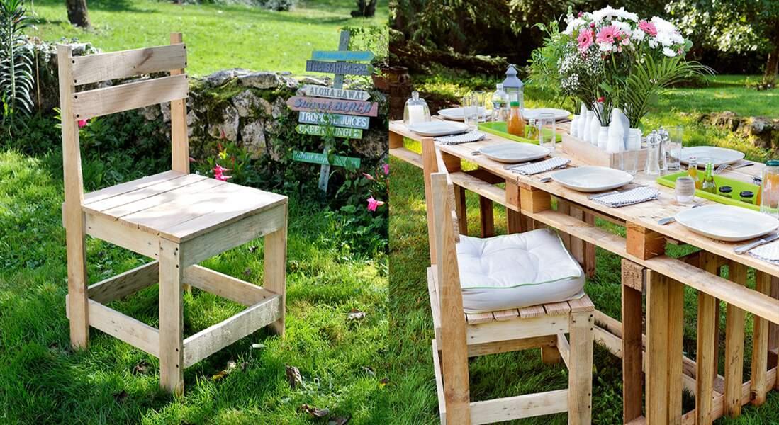 Salon de jardin en palettes : nos tutos pour le réaliser soi ...