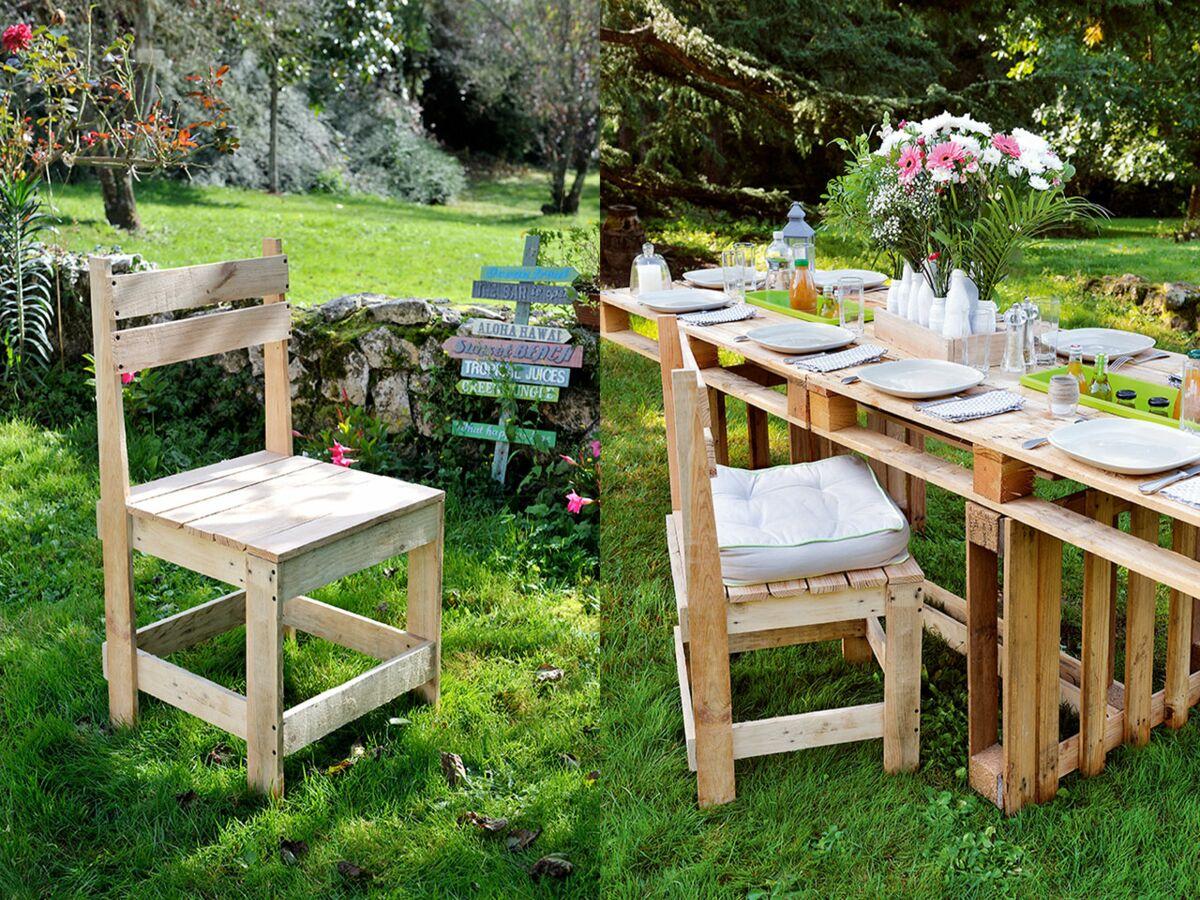 Faire Un Banc En Palette diy : comment fabriquer une chaise de jardin en palettes