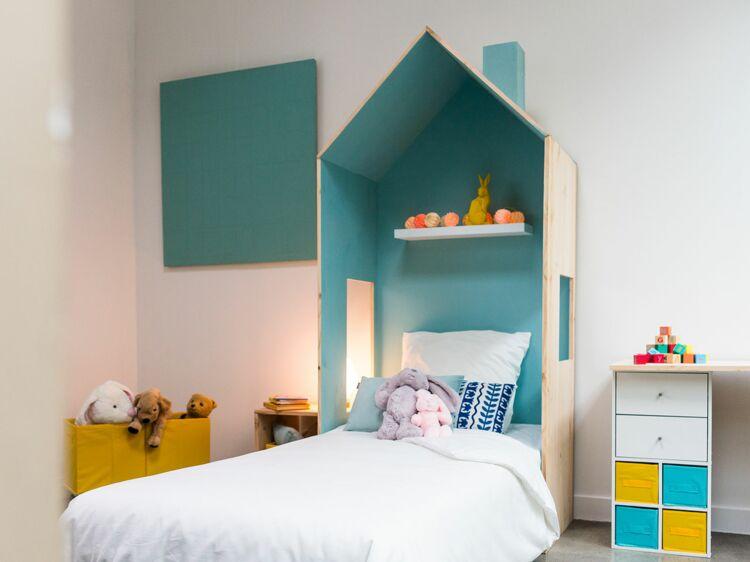diy comment fabriquer un lit cabane femme actuelle le mag. Black Bedroom Furniture Sets. Home Design Ideas