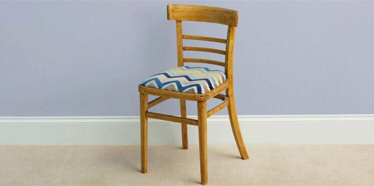 DIY : Comment rénover le tissu d'une chaise