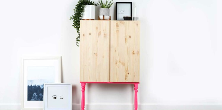 comment relooker une armoire ikea