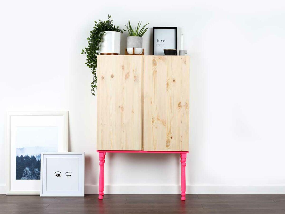Diy Customiser Une Armoire Ikea Femme Actuelle Le Mag