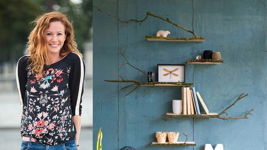 DIY : des étagères boisées par Sophie Ferjani