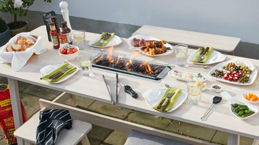 DIY : Encastrer un barbecue dans votre table de jardin