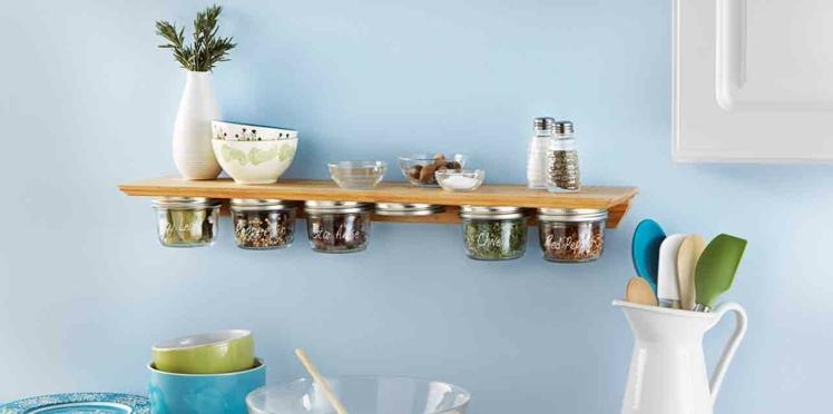 DIY : une étagère à épices pour la cuisine