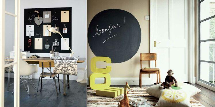 DIY peinture : un tableau noir ET magnétique