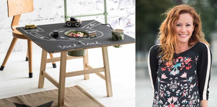 DIY : une table de jeu, par Sophie Ferjani