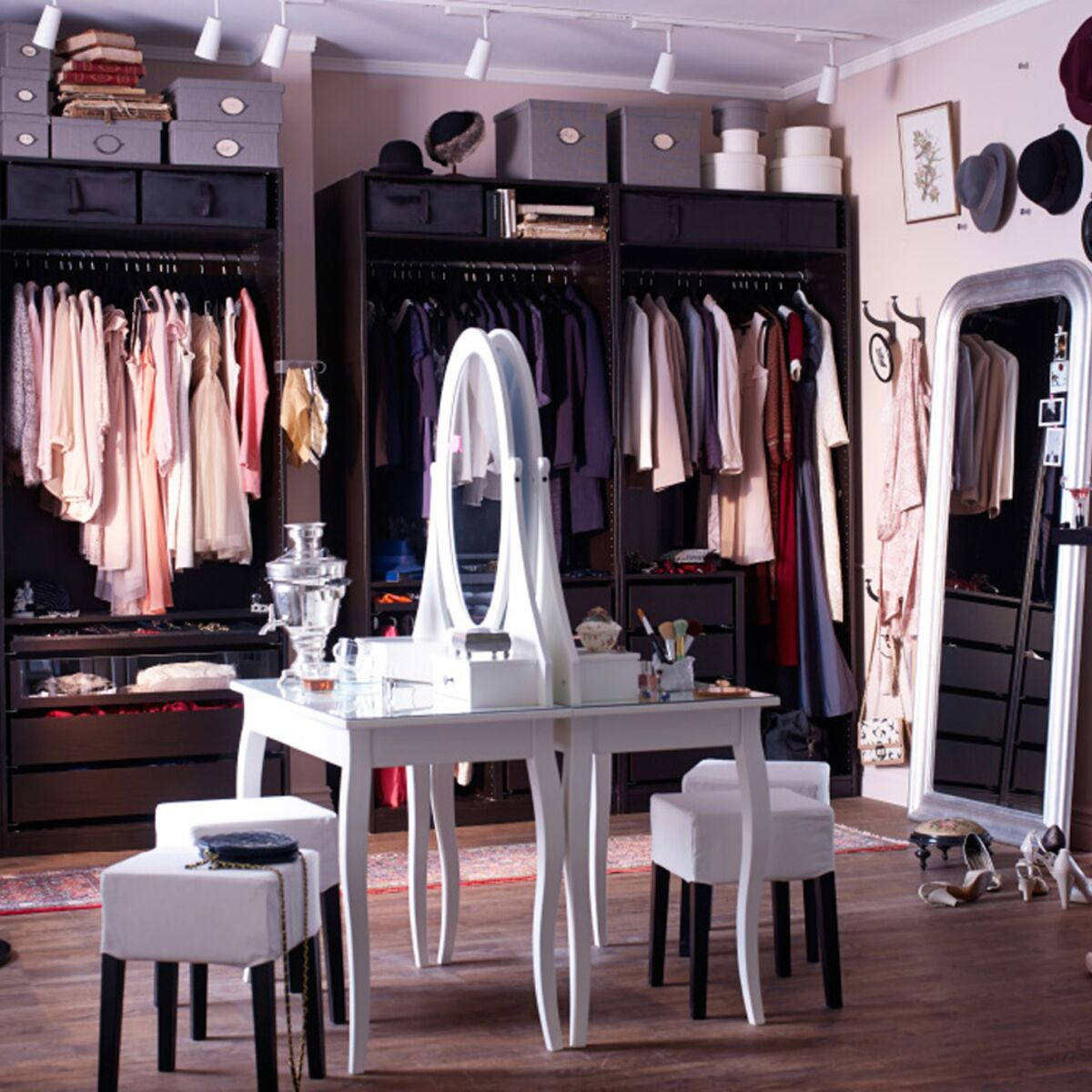 Dressing Sous Escalier Ikea dressing ikea : comment l'aménager ? : femme actuelle le mag