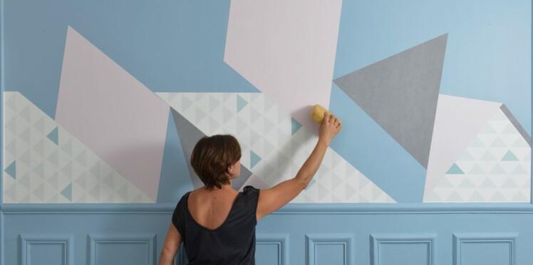 Papier Peint Creer Un Tableau Mural Design Femme Actuelle Le Mag